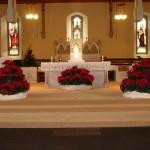 Christmas altar 1