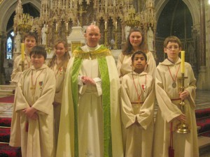 Ashbourne Altar Servers-Pueri Cantores
