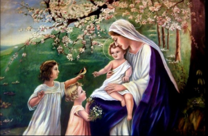 mary & children